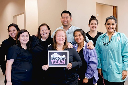 The Texas Dentistry team