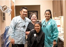 Texas Dentistry dentists and team members