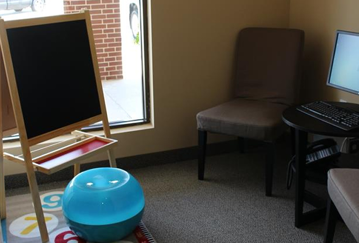 Games and activities in waiting room